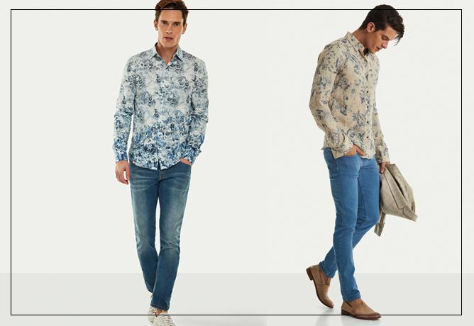 blog-ricardo-almeida-visual-de-verao-alfaiataria-4. Camisa estampada + Jeans b50821dd37557